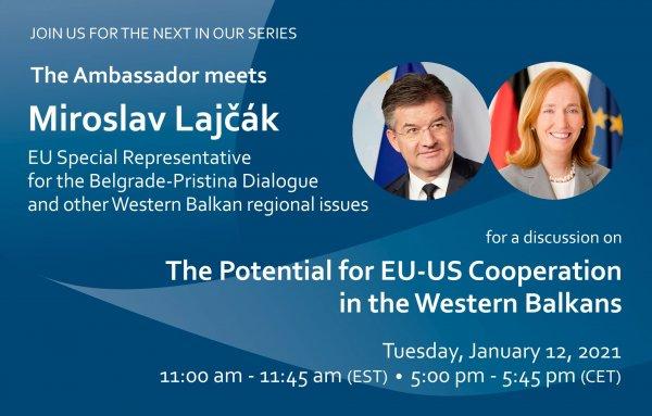 The Ambassador Meets Miroslav Lajčák