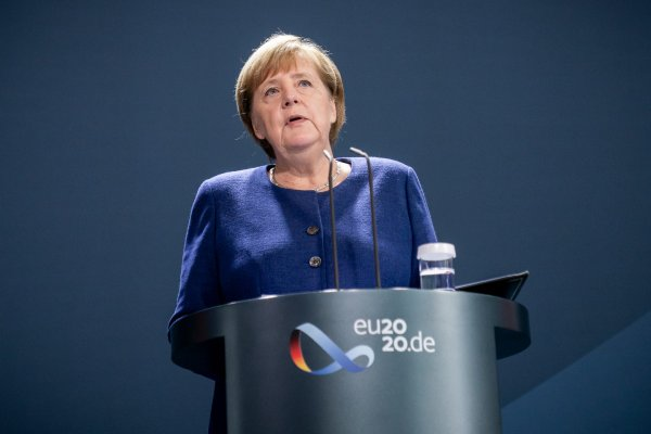 US election: Merkel says Germany will stand 'side by side' with US on world issues