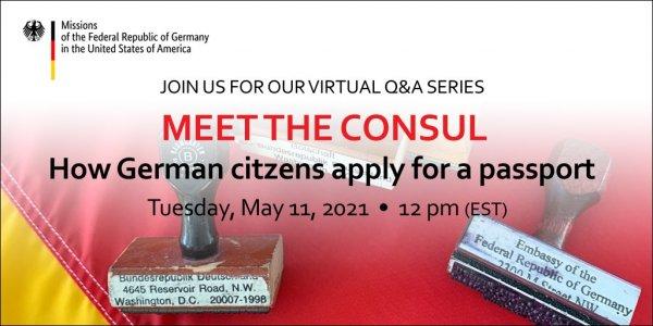 Meet the Consul: How German citizens apply for a passport