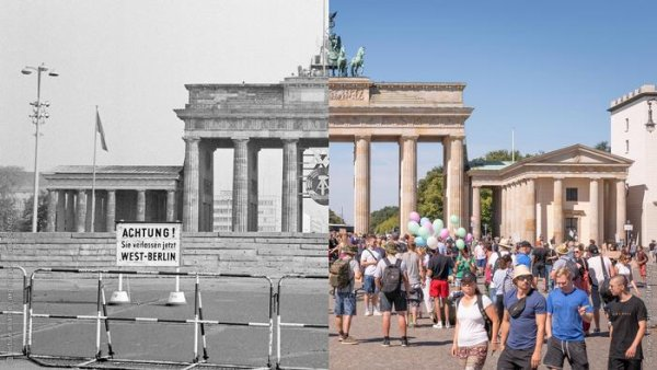 Germany before and after reunification