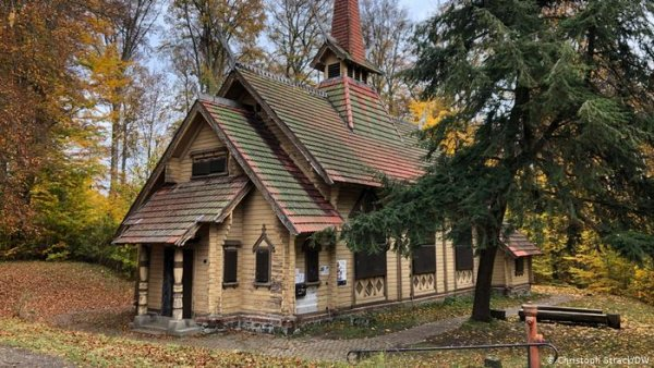German village rescues historical church - by moving it