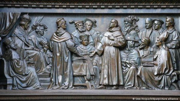 500 years after Luther and the Diet of Worms the ecumenical movement is strong