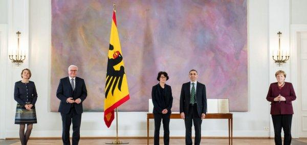 Steinmeier honors Biontech founders