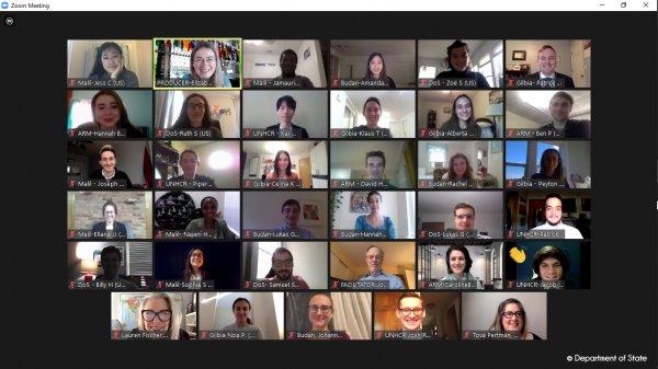 CBYX Virtual Program Participants Engage in Diplomacy Simulations