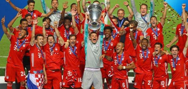 Bayern Munich wins the Champions League