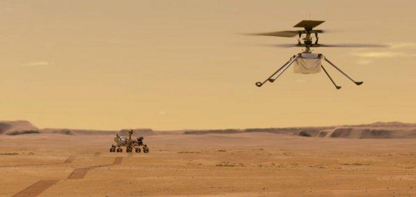 German technology on Mars
