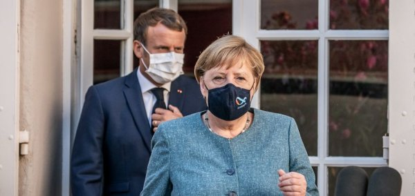 Merkel and Macron: Need cooperation in the fight against Corona