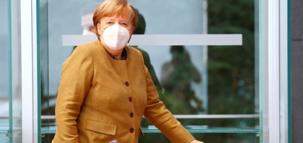 Chancellor Merkel describes what her life is like during the pandemic