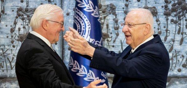 Steinmeier to Rivlin: Our friendship remains