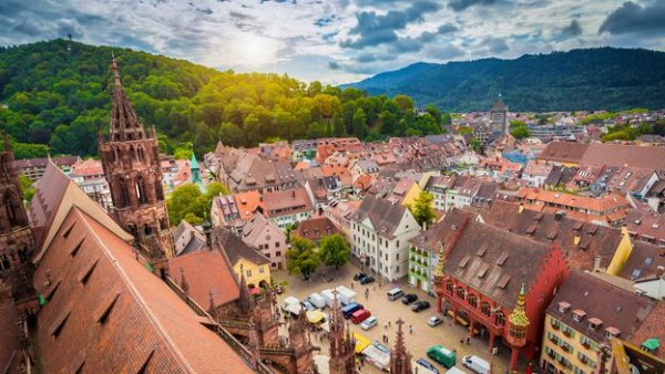 Freiburg: Germany's futuristic city set in a forest